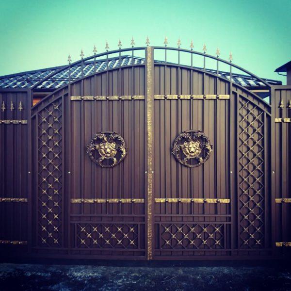 Ворота распашные Тюмени