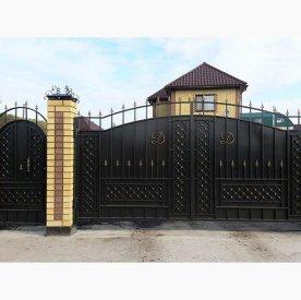 кованые ворота от kovka72