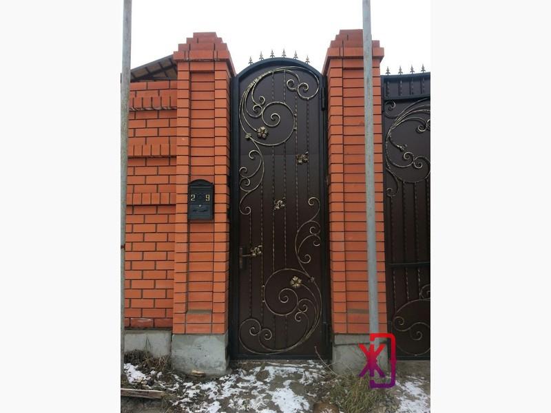 кованые ворота kovka72