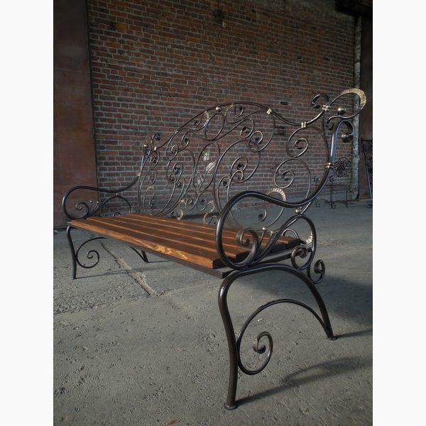 кованая скамейка от kovka72