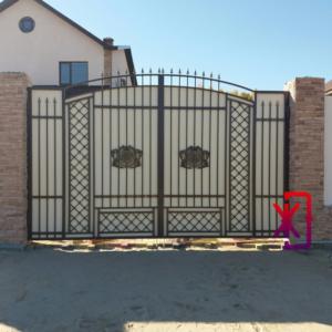 Ворота распашные в Тюмени
