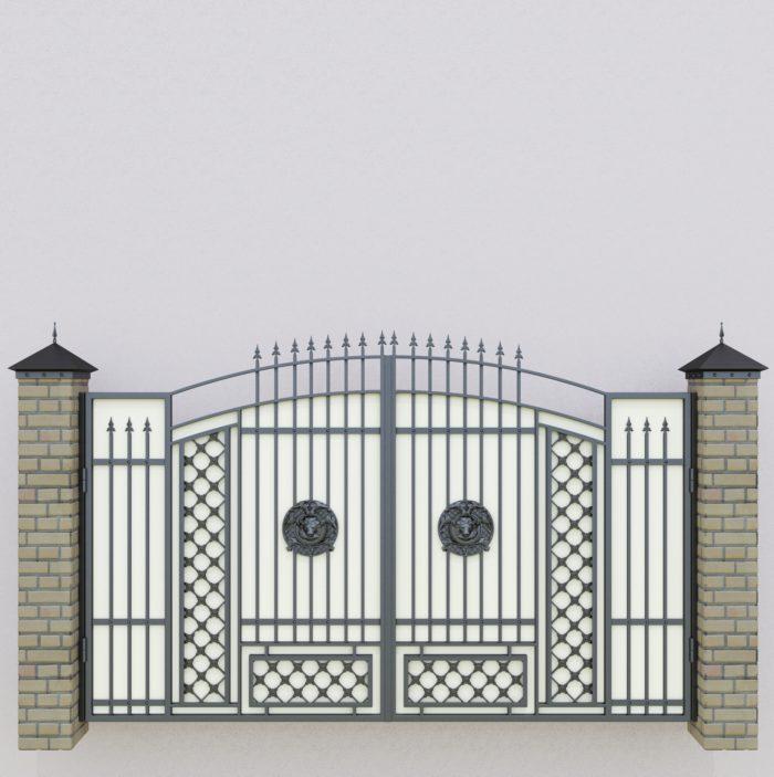 ворота новые