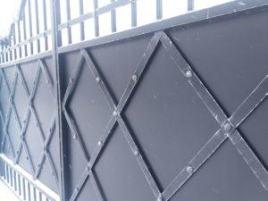 Разный дизайн откатных ворот