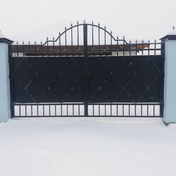 Ворота распашные Тюмень №29