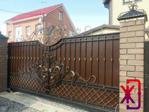 Установка откатных ворот Тюмень