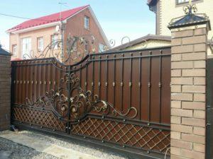 Установка откатных ворот Тюмень (№5)