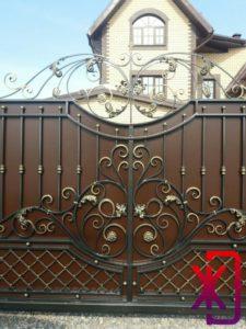 ворота откатные цена