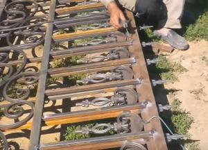 купить кованый забор в Тюмени