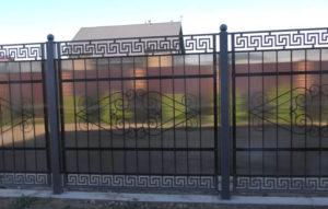 кованые заборы в Тюмени для огораживания территории