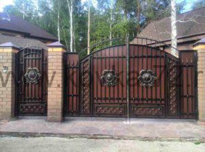 Ворота распашные Тюмень